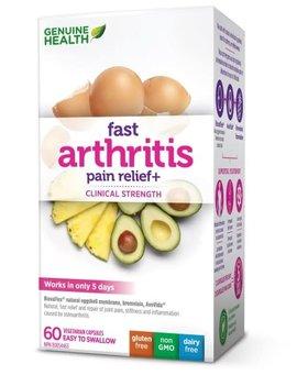 Genuine Health Genuine Health - Fast Arthritis Pain Relief+ - 60 V-Caps