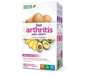 Genuine Health - Fast Arthritis Pain Relief+ - 60 V-Caps