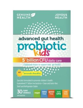 Genuine Health Genuine Health - Advanced Gut Health Probiotic - Kids - 5 Billion - 30 Chews