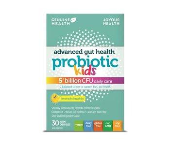 Genuine Health - Advanced Gut Health Probiotic - Kids - 5 Billion - 30 Chews