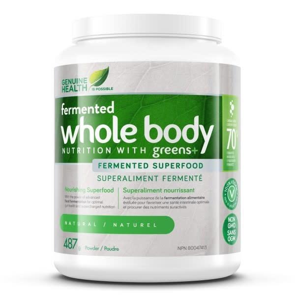 Genuine Health Genuine Health - Fermented Whole Body Nutrition w/ Greens+ - Natural - 487g