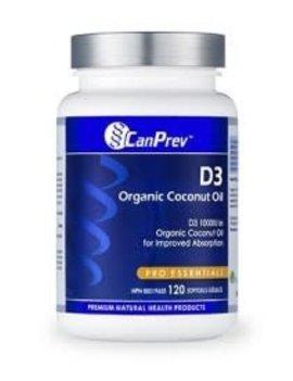 CanPrev - Canadian CanPrev - Vitamin D3 1000IU - 120 softgels