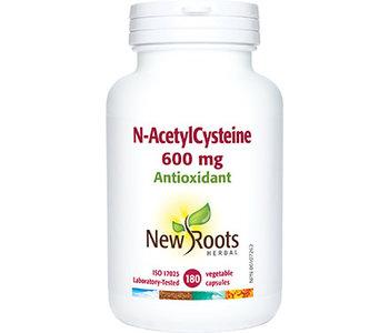 New Roots - N-Acetyl Cysteine - 180 veg caps