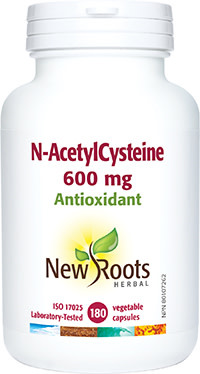 New Roots - N-Acetyl Cysteine - 180 veg caps