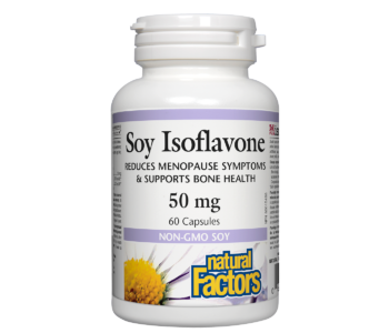 Natural Factors - Soy Isoflavone 50mg - 60 Caps