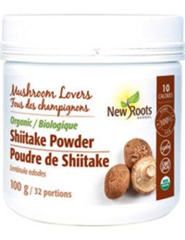 New Roots New Roots - Organic Shiitake Powder - 100 g