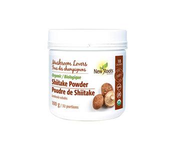 New Roots - Organic Shiitake Powder - 100 g