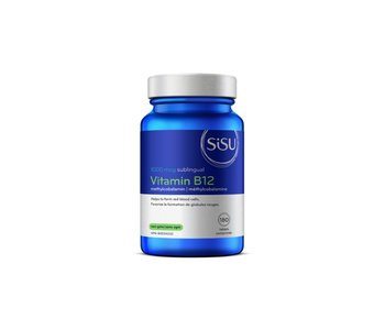Sisu - Vitamin B12 Methylcobalamin 1000 mcg - 180 Tabs