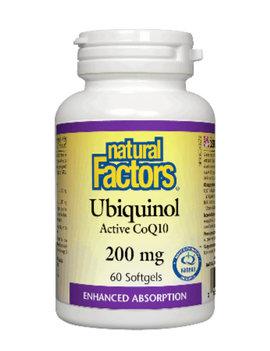 Natural Factors Natural Factors - Ubiquinol QH Active CoQ10 200 mg - 60 SG