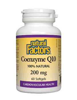 Natural Factors Natural Factors - Coenzyme Q10 200 mg - 60 SG