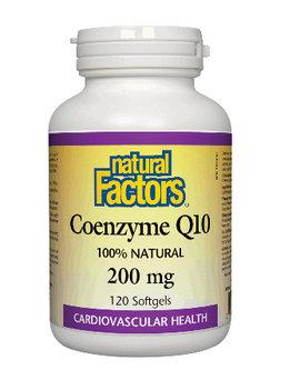 Natural Factors Natural Factors - Coenzyme Q10 200 mg - 120 SG