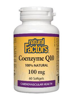 Natural Factors Natural Factors - Coenzyme Q10 100 mg - 60SG