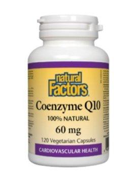 Natural Factors Natural Factors - Coenzyme Q10 60 mg - 120 V-Caps