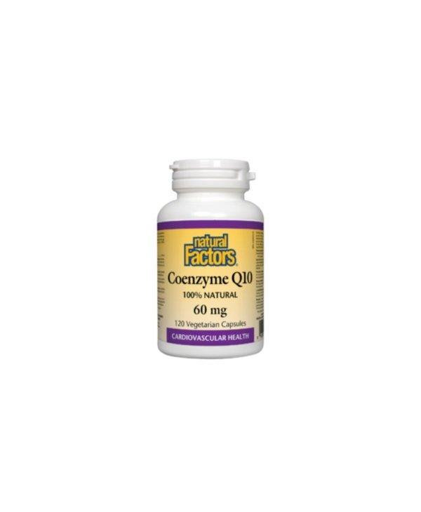 Natural Factors - Coenzyme Q10 60 mg - 120 V-Caps