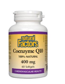 Natural Factors Natural Factors - Coenzyme Q10 400 mg - 60 SG