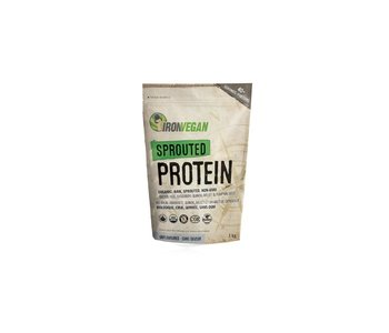 Iron Vegan - Sprouted Protein - Unflavored - 1kg