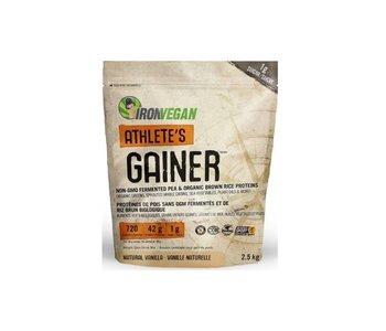 Iron Vegan - Athlete's Gainer - Vanilla - 2.5 kg