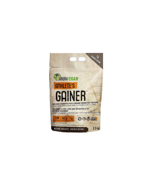 Iron Vegan - Athlete's Gainer - Natural Chocolate - 2.5kg