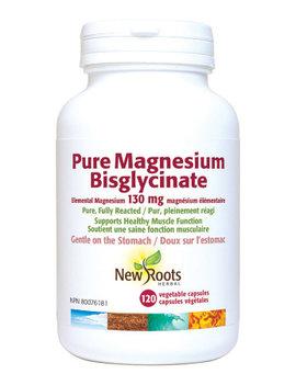 New Roots New Roots - Pure Magnesium Bisglycinate 130mg - 120 Vegi Caps