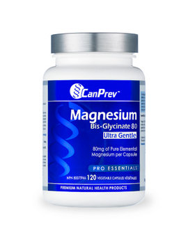 CanPrev CanPrev - Magnesium Bis-Glycinate 80 Ultra Gentle - 120 V-Caps