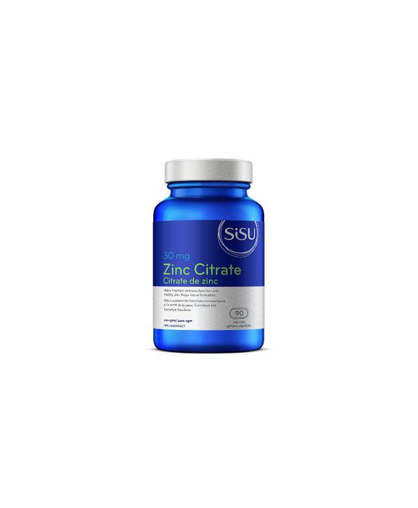 Sisu - Zinc Citrate 30 mg - 90 V-Caps