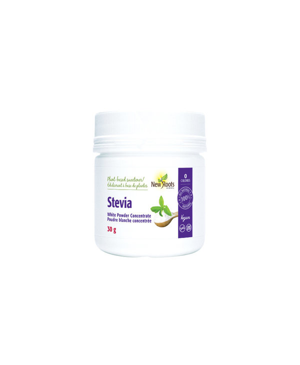 New Roots - Stevia White Powder - 30g