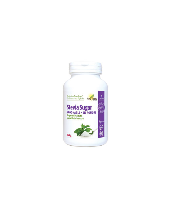New Roots - Stevia Sugar Spoonable - 454g