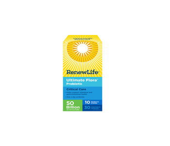 Renew Life - Ultimate Flora Critical Care 50 Billion - 30 Caps