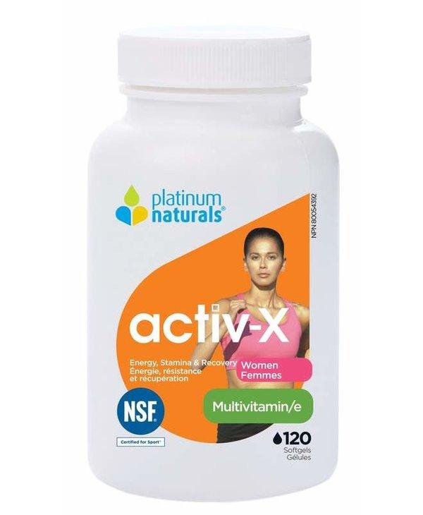 Platinum Naturals - Activ-X Women - 120 SG