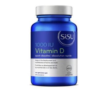 Sisu - Vitamin D 1000 IU - 400 Tabs