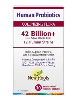 New Roots New Roots - Human Probiotics 42 Billion+ - 30 V-Caps