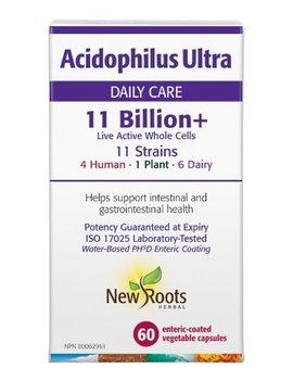 New Roots New Roots - Acidophilus Ultra 11 Billion - 60 caps