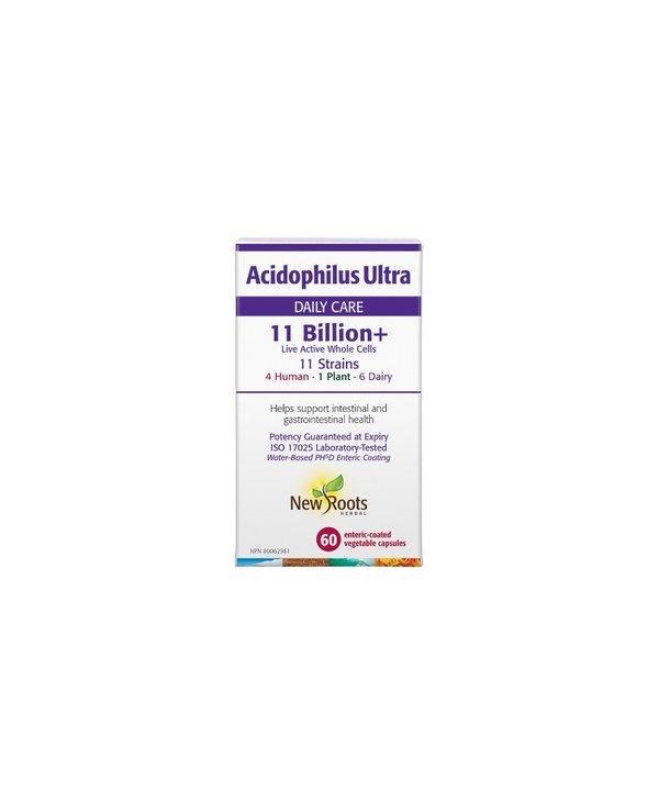 New Roots - Acidophilus Ultra 11 Billion - 60 caps