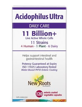 New Roots New Roots - Acidophilus Ultra 11 Billon - 120 Caps