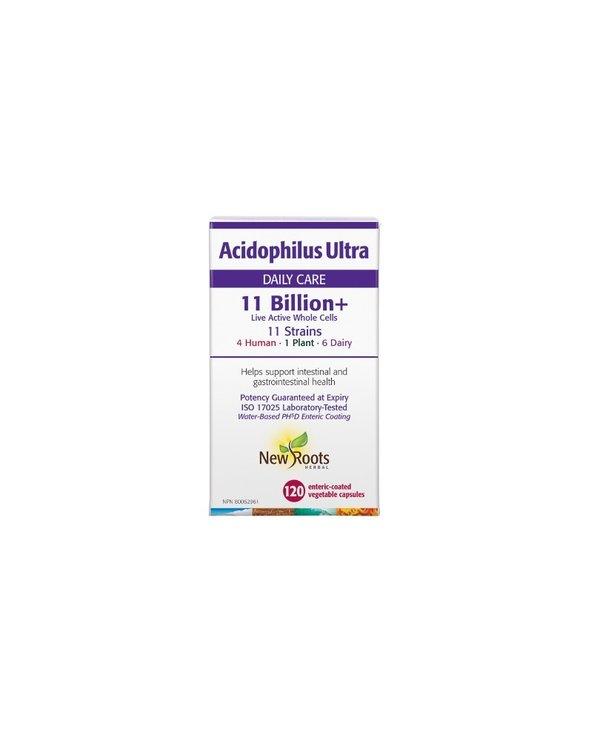 New Roots - Acidophilus Ultra 11 Billon - 120 Caps