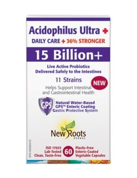 New Roots New Roots - Acidophilus Ultra Daily Care 15 Billion - 60 veg caps