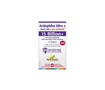New Roots - Acidophilus Ultra Daily Care 15 Billion - 60 veg caps