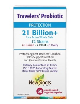 New Roots New Roots - Travelers Probiotic 21 Billion - 30 Caps