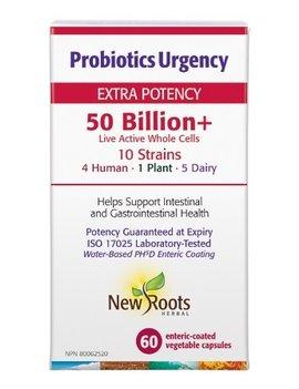 New Roots New Roots - Probiotics Urgency 50 Billion - 60 Caps