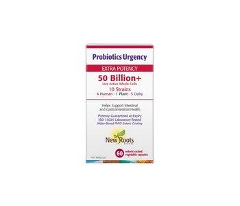 New Roots - Probiotics Urgency 50 Billion - 60 Caps