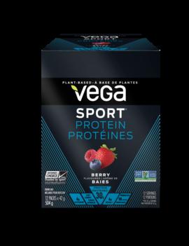 Vega Vega - Vega Sport Protein - Berry - Single