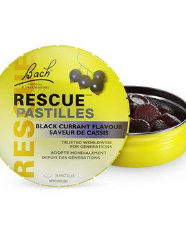 Bach Flower Remedies Bach - Rescue Pastilles - Black Currant - 35 Pastilles