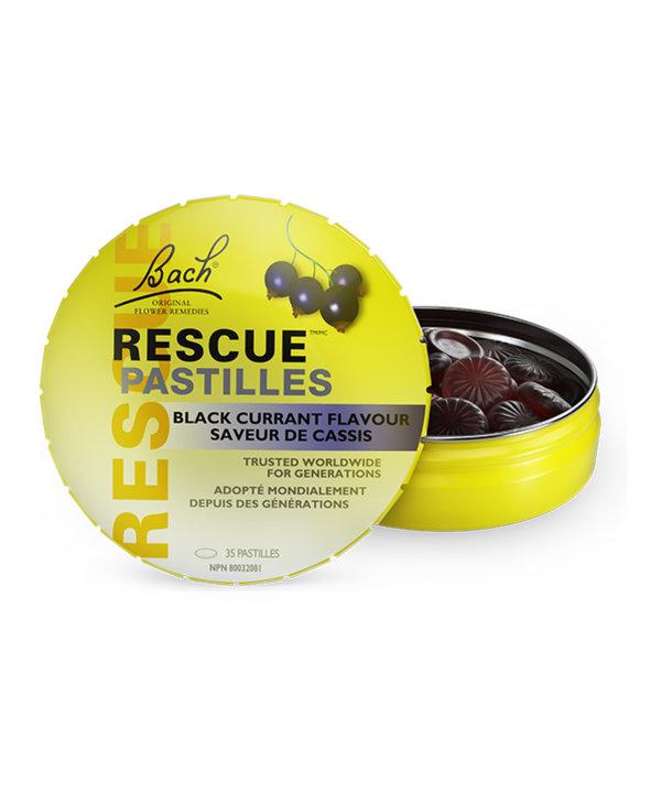 Bach - Rescue Pastilles - Black Currant - 35 Pastilles