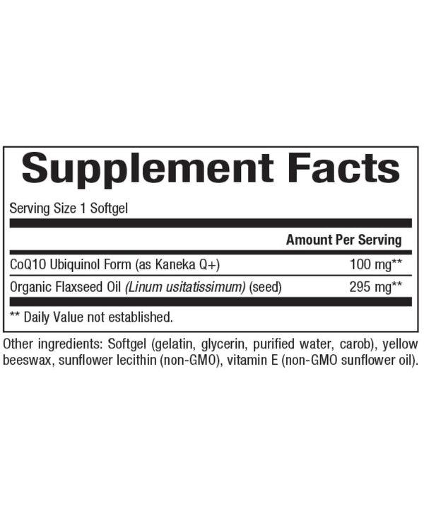 Natural Factors - Ubiquinol QH Active CoQ10 100 mg - 120 SG