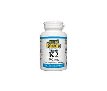 Natural Factors - Vitamin K2 100 mcg - 120 Caps