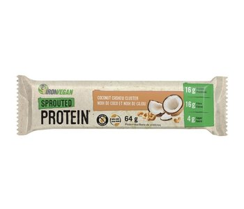 Iron Vegan - Protein Bar - Coconut Cashew Cluster - Single