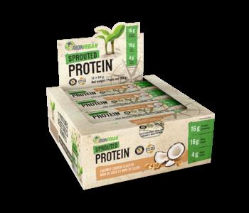 Iron Vegan - Protein Bar - Coconut Cashew Cluster - Box of 12
