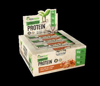 Iron Vegan - Protein Bar - Sweet & Salty Caramel - Box of 12