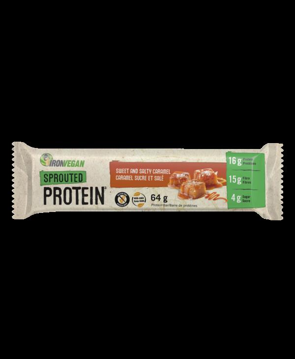 Iron Vegan - Protein Bar - Sweet & Salty Caramel - Single