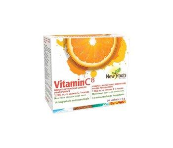New Roots - Vitamin C8 Powder - 30 sachets x 5g